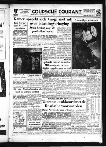 Goudsche Courant 1958-03-05