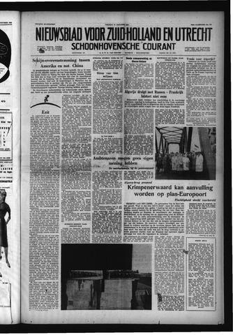 Schoonhovensche Courant 1958-10-24