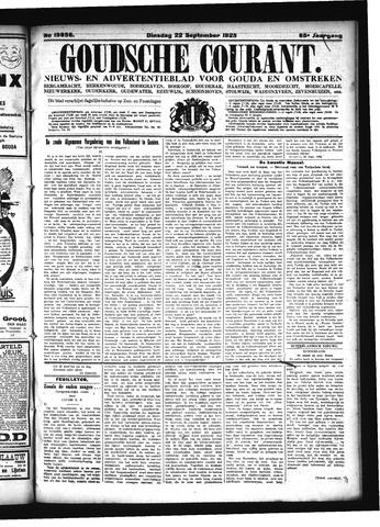 Goudsche Courant 1925-09-22