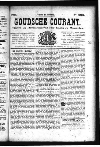 Goudsche Courant 1885-09-25