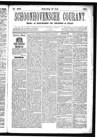 Schoonhovensche Courant 1907-07-13