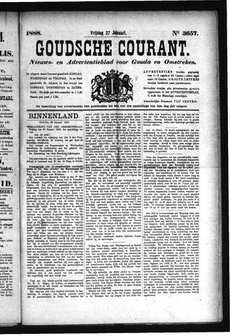 Goudsche Courant 1888-01-27