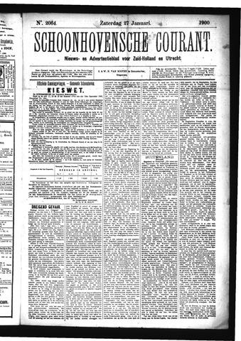 Schoonhovensche Courant 1900-01-27