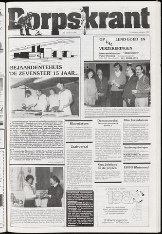 Dorpskrant 1986-10-15