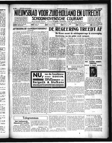 Schoonhovensche Courant 1935-07-26