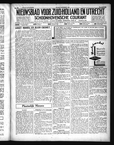 Schoonhovensche Courant 1935-09-06