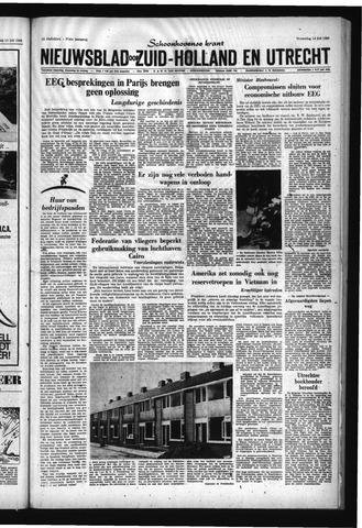 Schoonhovensche Courant 1965-07-14