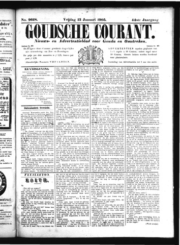 Goudsche Courant 1905-01-13