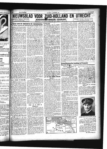 Schoonhovensche Courant 1942-11-09