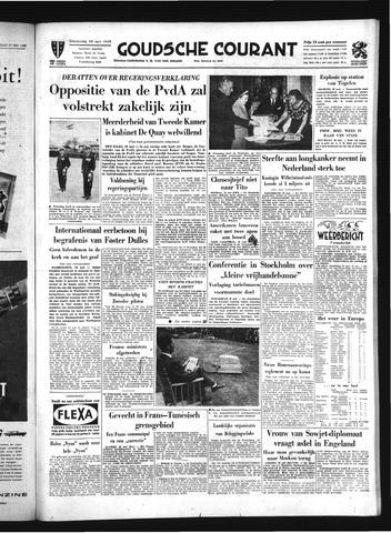 Goudsche Courant 1959-05-28