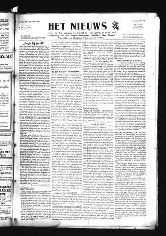 Schoonhovensche Courant 1945-09-21