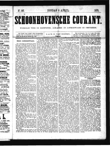 Schoonhovensche Courant 1873-04-06