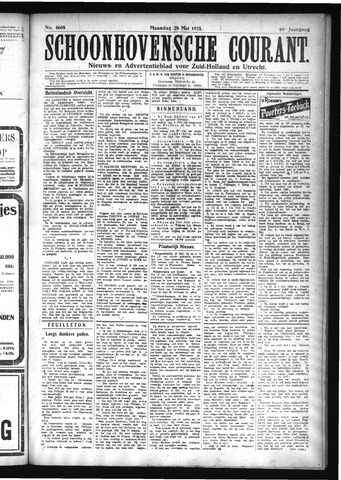 Schoonhovensche Courant 1923-05-28
