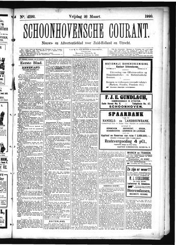 Schoonhovensche Courant 1920-03-26
