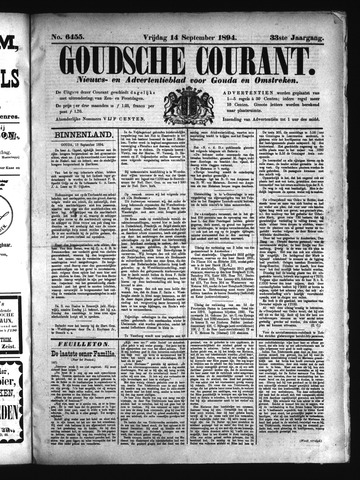 Goudsche Courant 1894-09-14