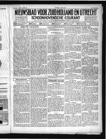 Schoonhovensche Courant 1938-04-11