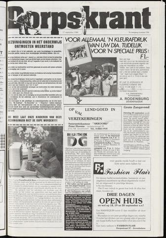 Dorpskrant 1986-09-17