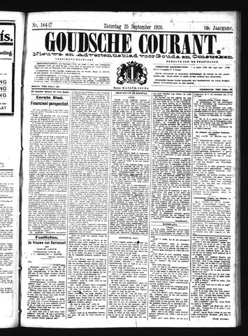 Goudsche Courant 1920-09-25