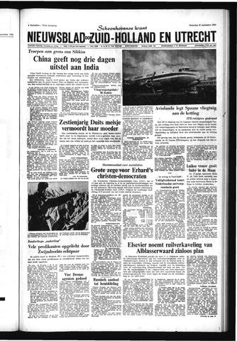 Schoonhovensche Courant 1965-09-20