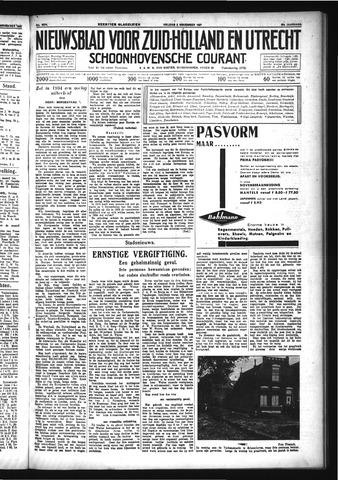 Schoonhovensche Courant 1933-11-03