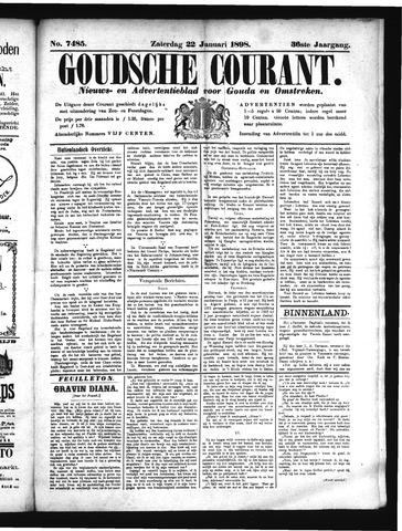 Goudsche Courant 1898-01-22