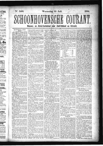 Schoonhovensche Courant 1894-07-25