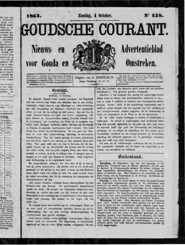 Goudsche Courant 1863-10-04