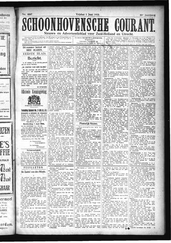 Schoonhovensche Courant 1923-06-01