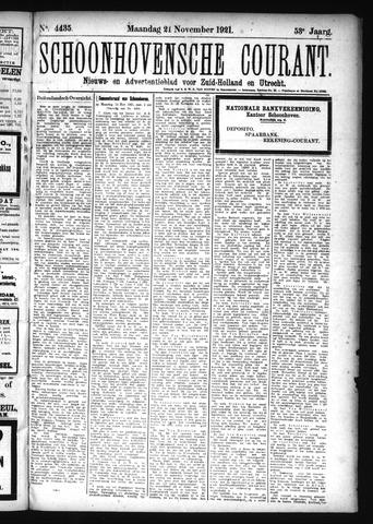Schoonhovensche Courant 1921-11-21