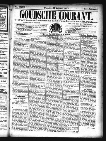 Goudsche Courant 1917-01-23