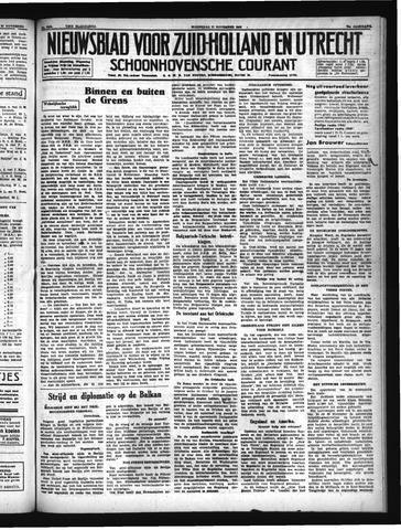 Schoonhovensche Courant 1940-11-27