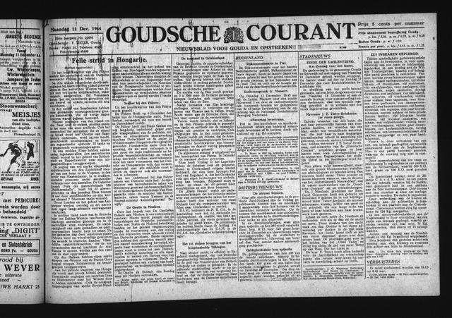 Goudsche Courant 1944-12-11