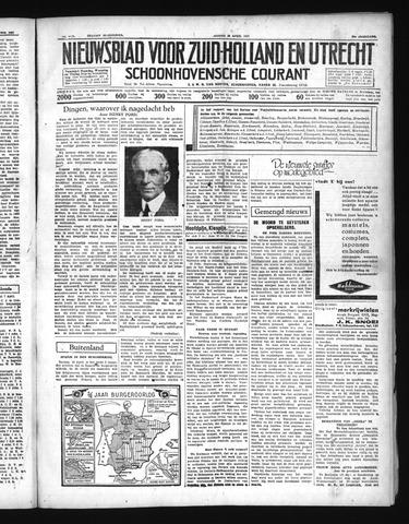 Schoonhovensche Courant 1937-04-16