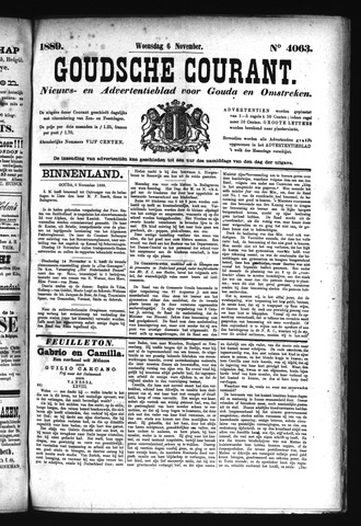 Goudsche Courant 1889-11-06