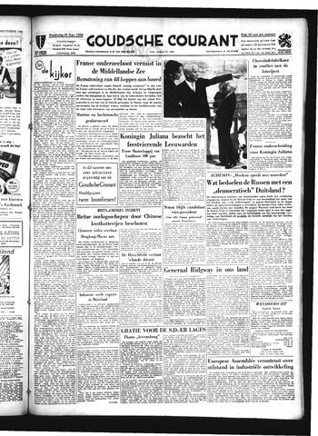 Goudsche Courant 1952-09-25