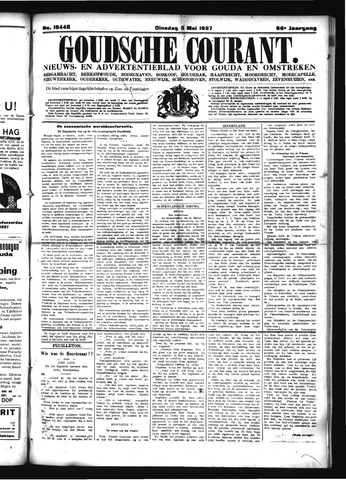 Goudsche Courant 1927-05-03