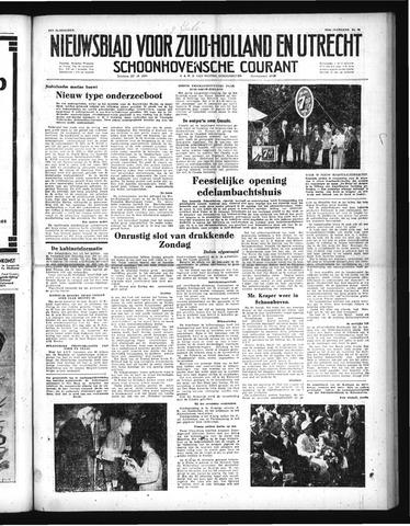 Schoonhovensche Courant 1952-07-07