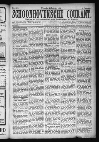 Schoonhovensche Courant 1923-02-28