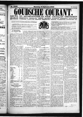 Goudsche Courant 1936-09-21