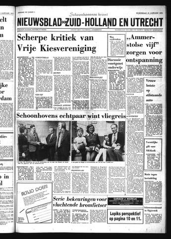 Schoonhovensche Courant 1975-01-15