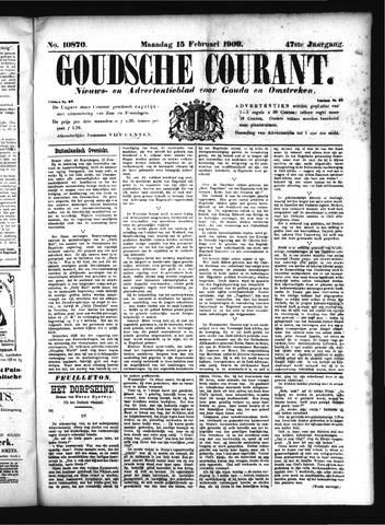 Goudsche Courant 1909-02-15