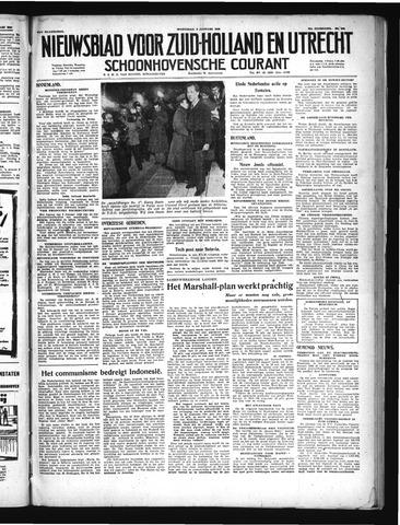 Schoonhovensche Courant 1949-01-05