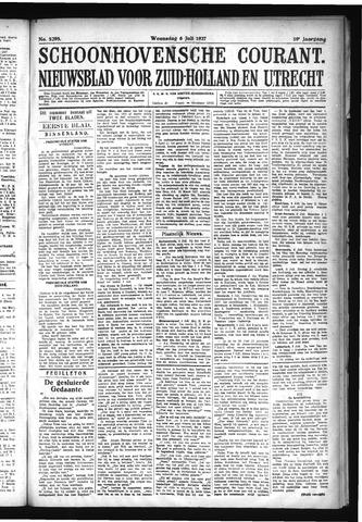 Schoonhovensche Courant 1927-07-06