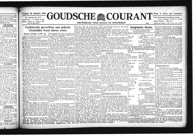 Goudsche Courant 1945-01-26