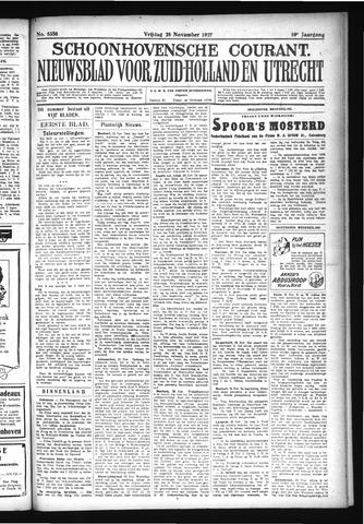 Schoonhovensche Courant 1927-11-25