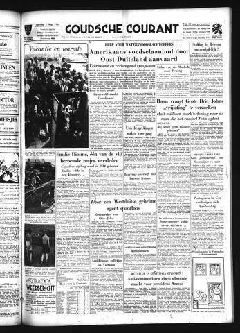Goudsche Courant 1954-08-07