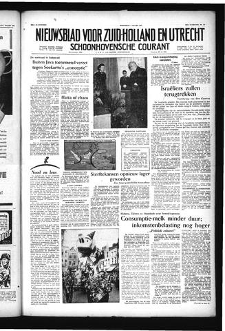 Schoonhovensche Courant 1957-03-06