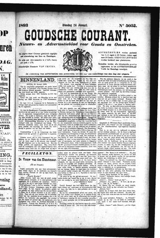 Goudsche Courant 1893-01-24