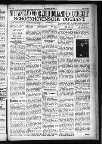 Schoonhovensche Courant 1929-05-29