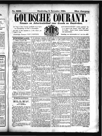 Goudsche Courant 1894-11-08